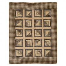 Brockton Cabin Quilted Throw