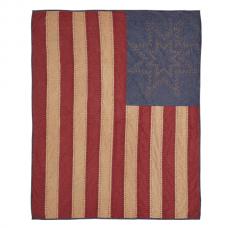 Cheyenne American Flag Throw