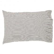 Josephine Black Pillow Case Set