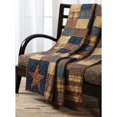 Patriotic Patch Throw