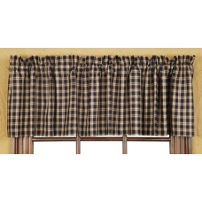 Bingham Star Plaid Valance
