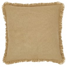 Burlap Natural Fabric Euro Sham