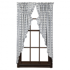 Bluehill Harbor Prairie Curtain Set