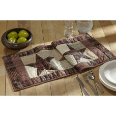 Abilene Star Quilted Runner