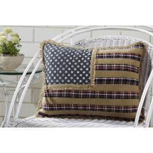 Westport Quilted Flag Pillow