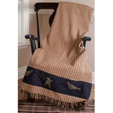Kettle Grove Woven Applique Throw